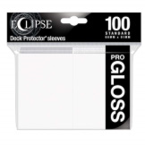Ultra Pro Deck Protectors Eclipse Gloss Arctic White 100CT