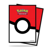 Deck Protectors Pokemon Pokeball 65CT