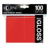 Ultra Pro Deck Protectors Eclipse Gloss Apple Red 100CT
