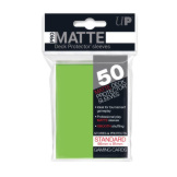 Ultra Pro Deck Protectors Standard Matte Lime Green 50CT