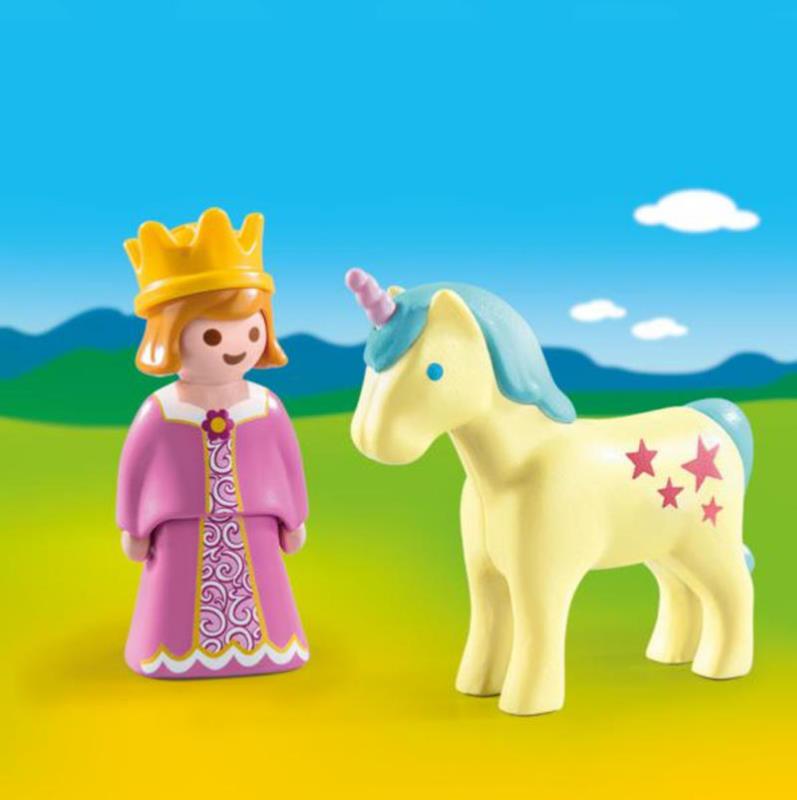 playmobil 123 princess with unicorn