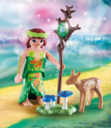 Playmobil Fairy With Deer