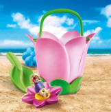 Playmobil Spring Flower Bucket Sand Toy