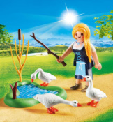 Playmobil Maiden With Geese Easter Egg