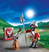 Playmobil Knight With Cannon Easter Egg