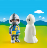 Playmobil 1-2-3 Knight With Ghost
