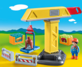 Playmobil 1-2-3 Construction Crane