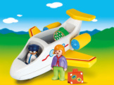 Playmobil 1-2-3 Airplane With Passenger