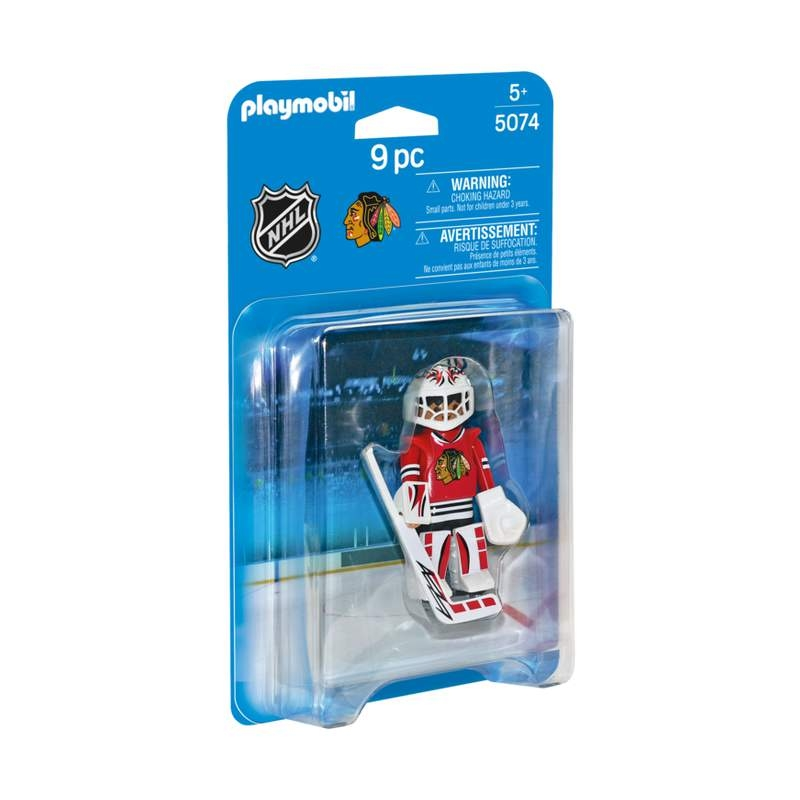Playmobil NHL Chicago Blackhawks Goalies