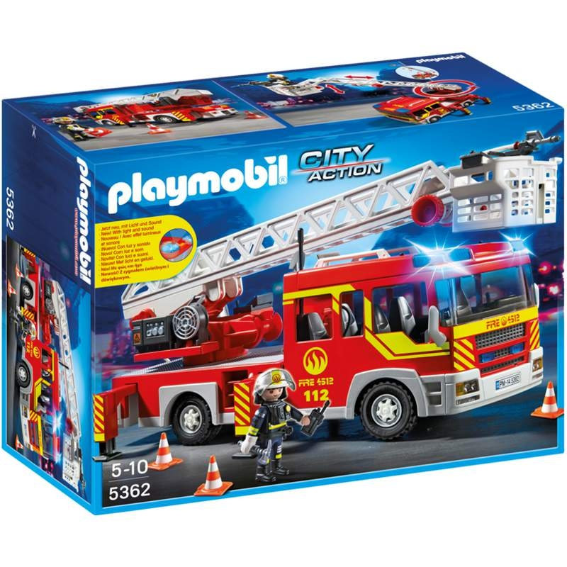 Playmobil Ladder Unit With Lights & Sounds