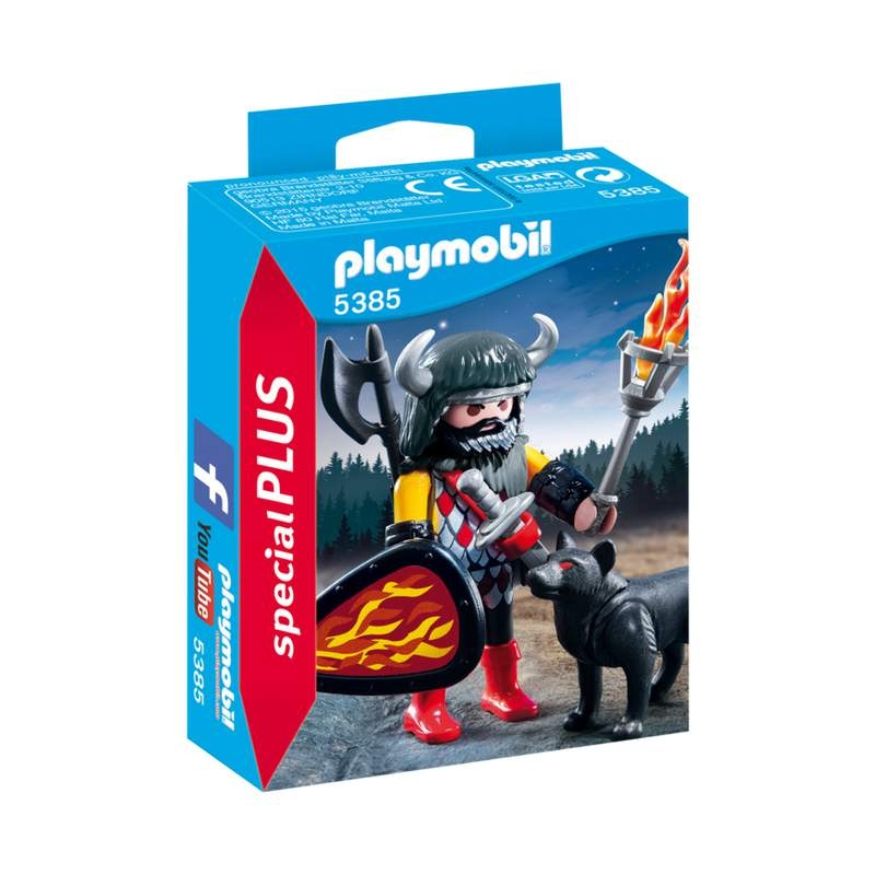 Playmobil Wolf Warrior