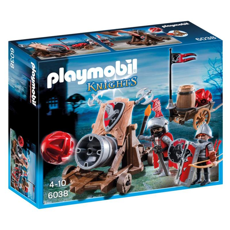 Playmobil Hawk Knights Battle Cannon