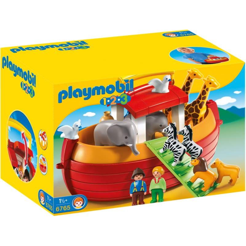 Playmobil 1-2-3 My Take Along Noah's Ark