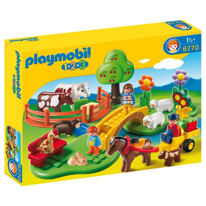 Playmobil 1-2-3 Countryside