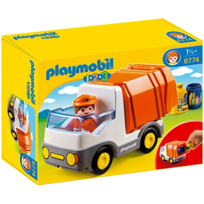 Playmobil 1-2-3 Recycling Truck