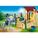 Playmobil Horse Stable With Apalossa
