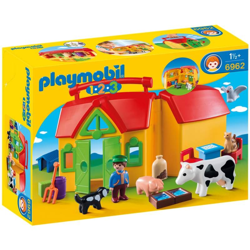 Playmobil 1-2-3 My Take Along Farm
