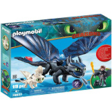 Playmobil How To Train Your Dragon Hiccup & Toothless with Baby Dragon