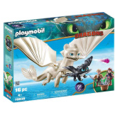 Playmobil How To Train Your Dragon Light Fury with Baby Dragon