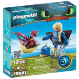 Playmobil How To Train Your Dragon Astrid with Hobgobbler