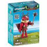 Playmobil How To Train Your Dragon Snotlot with Flight Suit