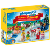 Playmobil 1.2.3 Advent Calendar Christmas On The Farm
