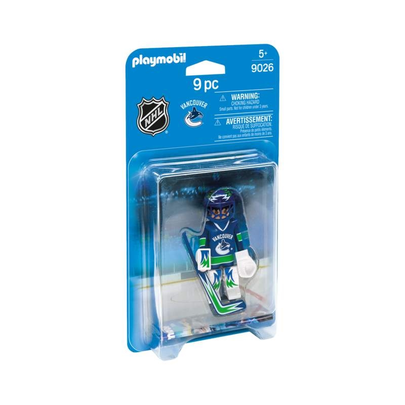 Playmobil NHL Vancouver Canucks Goalie