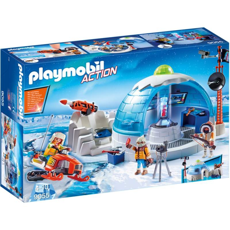 Playmobil Arctic Expedition Headquarters
