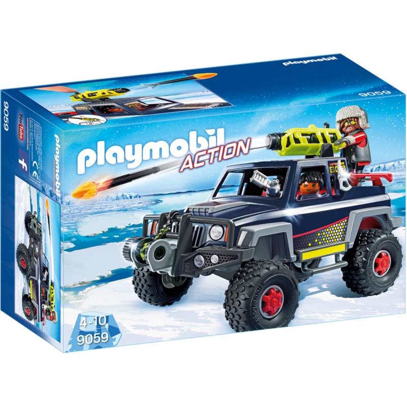 Playmobil Ice Pirate with Snowtruck