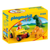 Playmobil 1-2-3 Explorer with Dinos