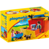 Playmobil 1-2-3 Take Along Market Stall