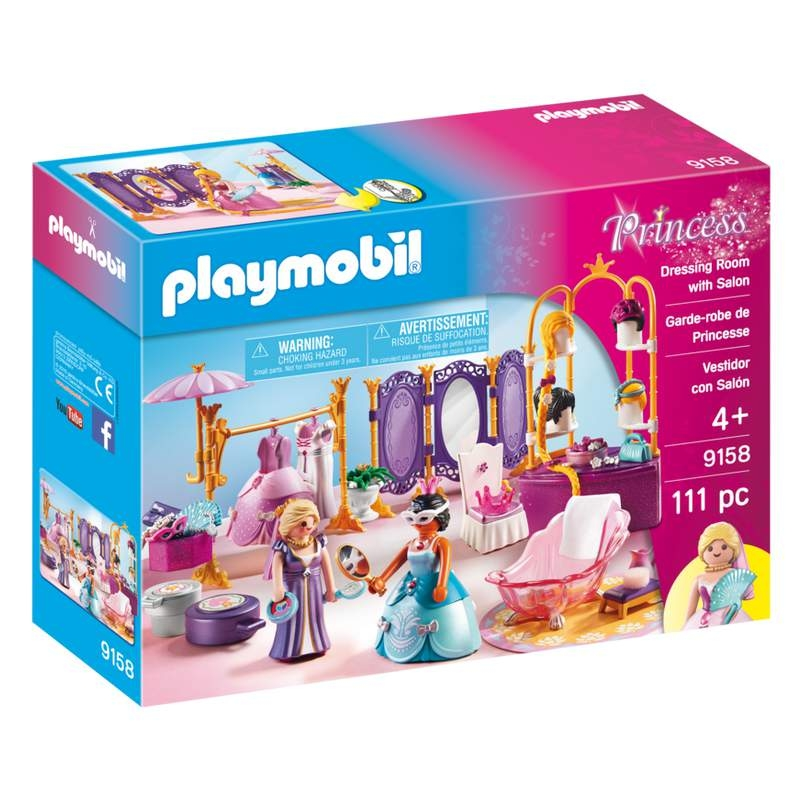 Playmobil Dressing Room with Salon