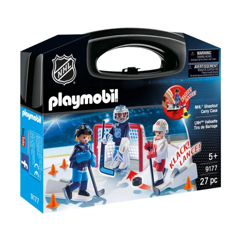 Playmobil NHL Shootout Carry Case