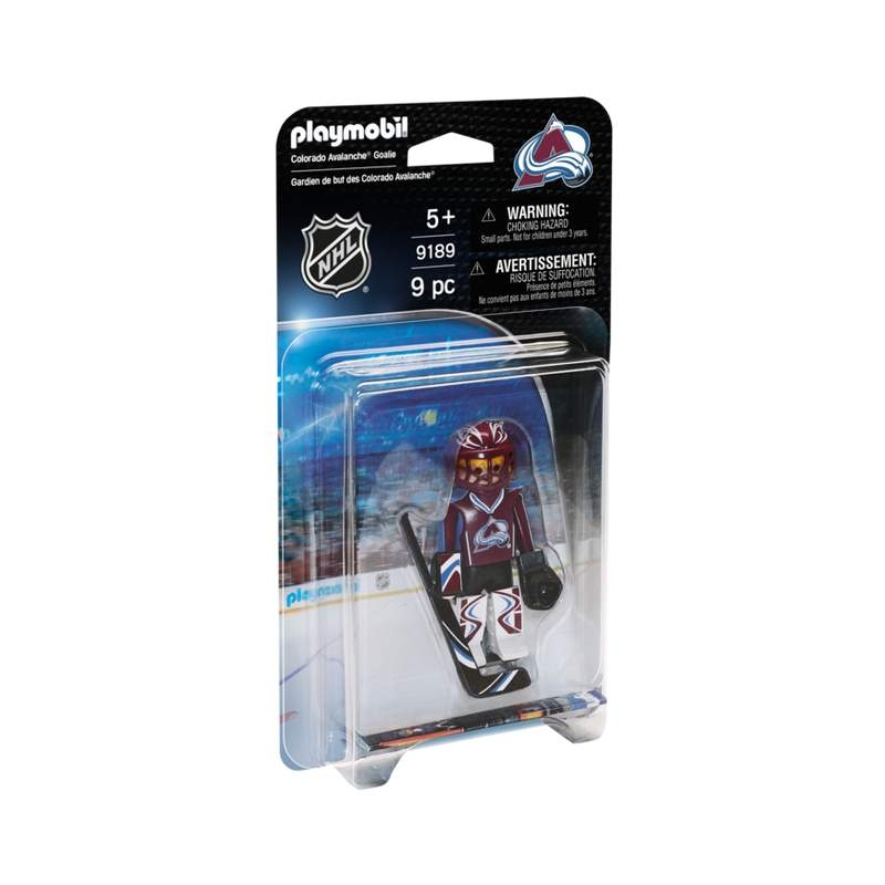 Playmobil NHL Colorado Avalanche Goalie