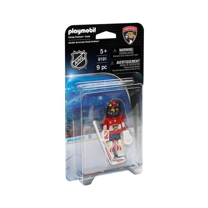 Playmobil NHL Florida Panthers Goalie
