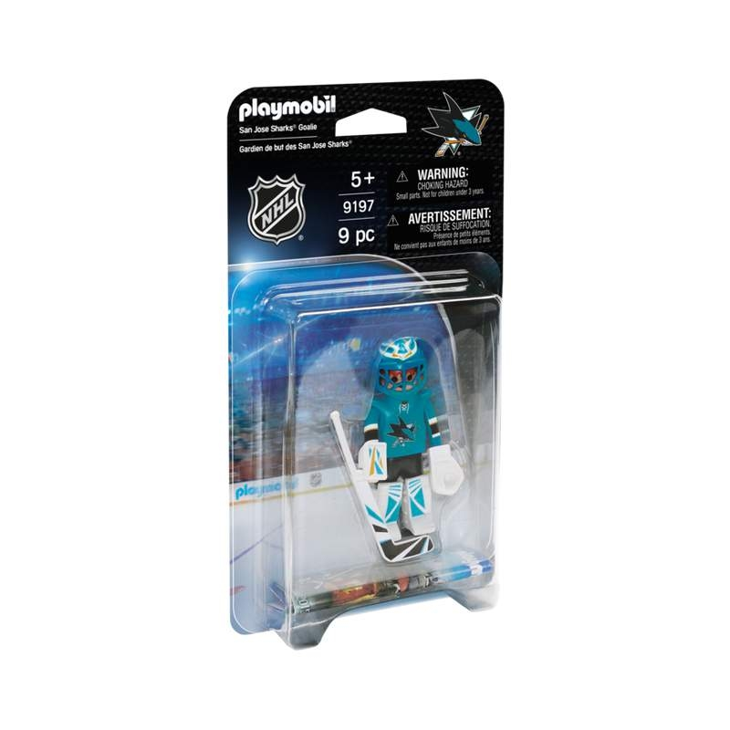 Playmobil NHL San Jose Sharks Goalie
