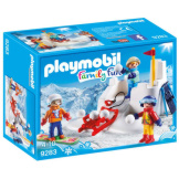 Playmobil Snowball Fight