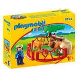 Playmobil 1.2.3. Lion Enclosure