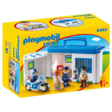 Playmobil 1.2.3. Police Station Take Along