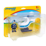 Playmobil 1.2.3. Police Helicopter