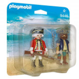 Playmobil Pirate & Soldier Duo Pack