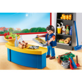 Playmobil School Caretaker With Kiosk