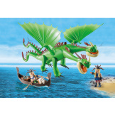 Playmobil How To Train Your Dragon Ruffnut And Tuffnut With Barf & Belch