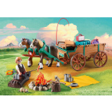Playmobil Spirit Lucky's Dad & Wagon