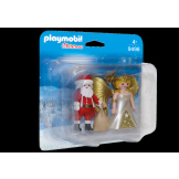 Playmobil Santa Claus & Christmas Angel