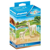 Playmobil Alpaca with Baby