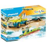 Playmobil Beach Car with Canoe