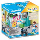 Playmobil Tourists with ATM