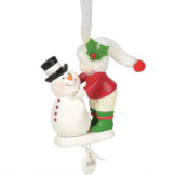 2020 Frosty Kisses Ornament