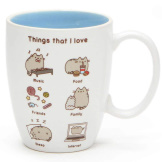 Pusheen Mug Things I Love 12oz